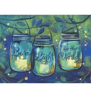 BD/3 Hanging jars with candles
