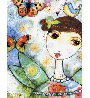 BD/Fairy Girl bird on head
