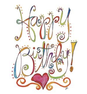 BD/Happy Birthday