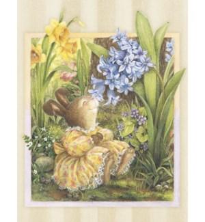 BD/Bunny in a dress w flower