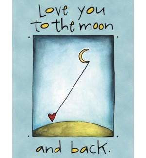 BD/Heart lassoing moon