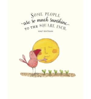 BD/Little bird hugging sun