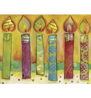 BD/Six candles