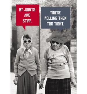 BD/Two Women walking smoking