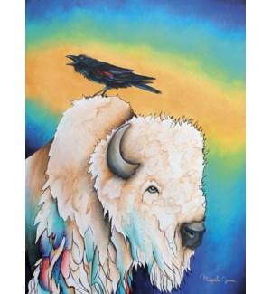 BL/Buffalo with black bird
