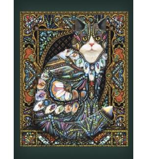 BL/Cat with decorative jewels