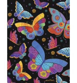 BL/Colourful butterflies