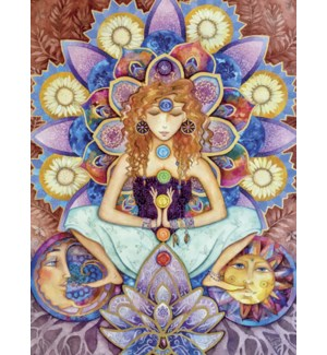 BL/Goddess with lotus