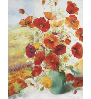 BL/Orange poppies