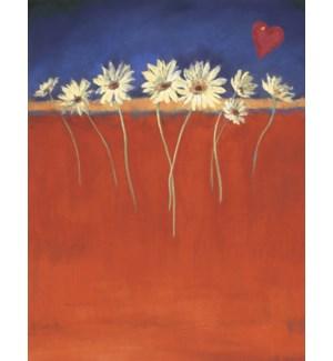 BL/Daisies & heart