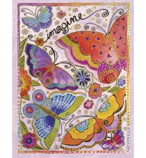 BL/Butterflies and flowers