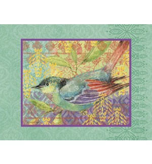 BL/Bird sitting on branch