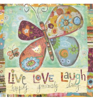 BL/Butterfly live happily
