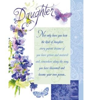 RBD/Purple flowers butterflies