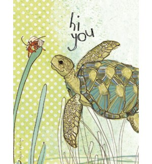 NOTECARD/Sea Turtle