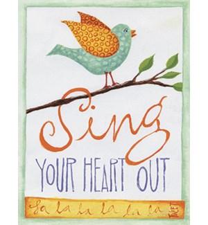 NOTECARD/Bird chirping