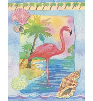 NOTECARD/Flamingo