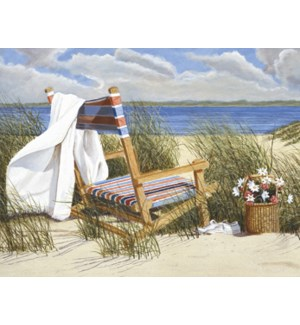 NOTECARD/Beach chair