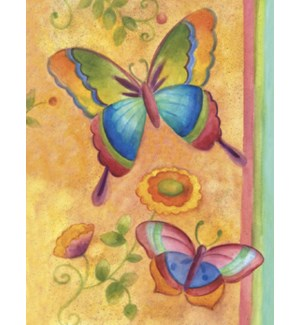 NOTECARD/Yellow Butterfly