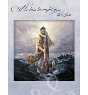 ENC/Jesus walking on water