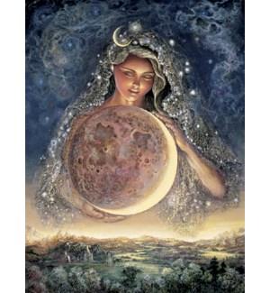ENC/Girl holding earth