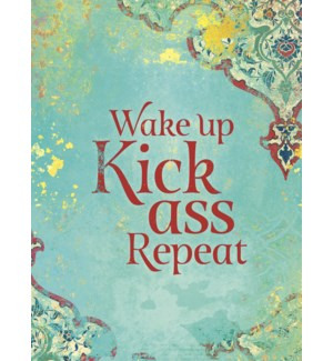 ENC/Wake up Kick ass Repeat