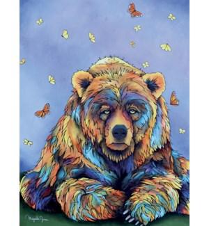 ENC/Bear & butterflies