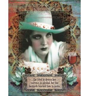 ED/Cowgirl, wine glass