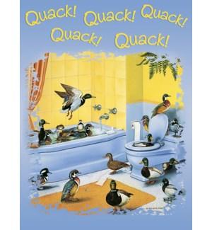 EN/Many ducks in bathtub