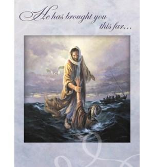 ED/Jesus walking on water