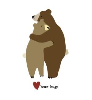 ENC/Two bears hugging