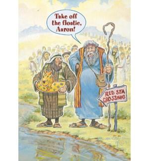 ED/Moses wearing floatie