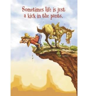 EN/Cowboy kicked off cliff