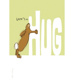 ENC/Rabbit hugging H in HUG