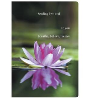 ENC/Pink lotus floating