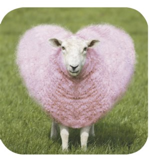 FR/Sheep with heart wool