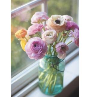 TOY/Mason jar w flowers