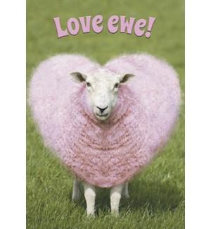 RO/Heart shaped wool