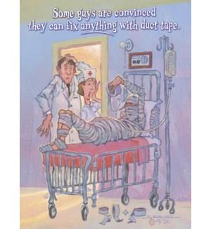 GW/Scared dr. & nurse