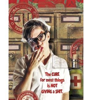 GW/Nurse in cat eye glasses