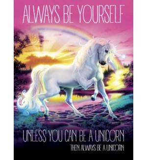 BL/Unicorn with rainbow