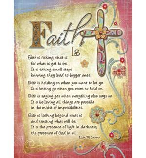 ED/Faith is by Ellen Cuomo