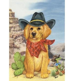 BD/Puppy wearing bandana