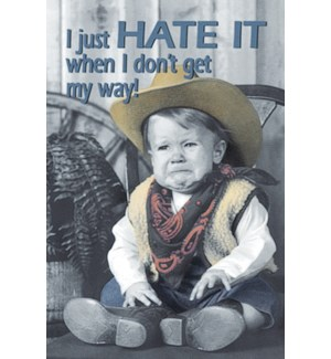 MAGNET/Crying cowboy baby