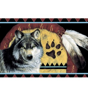 MAGNET/Wolf &feathers