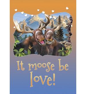 MAGNET/Moose smiling
