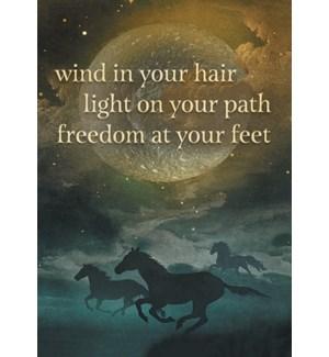 MAGNET/Horses full moon