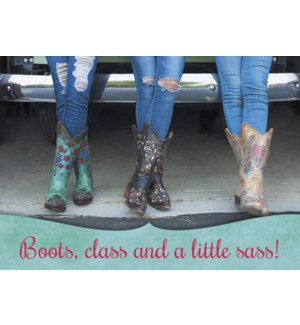 MAGNET/Cowgirls in boots