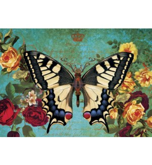 MAGNET/Butterfly, roses