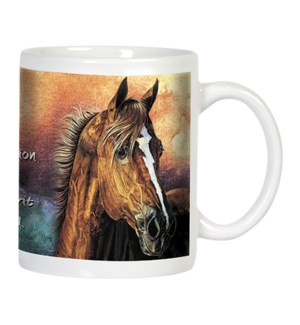 MUG/Horse & lightening bolt